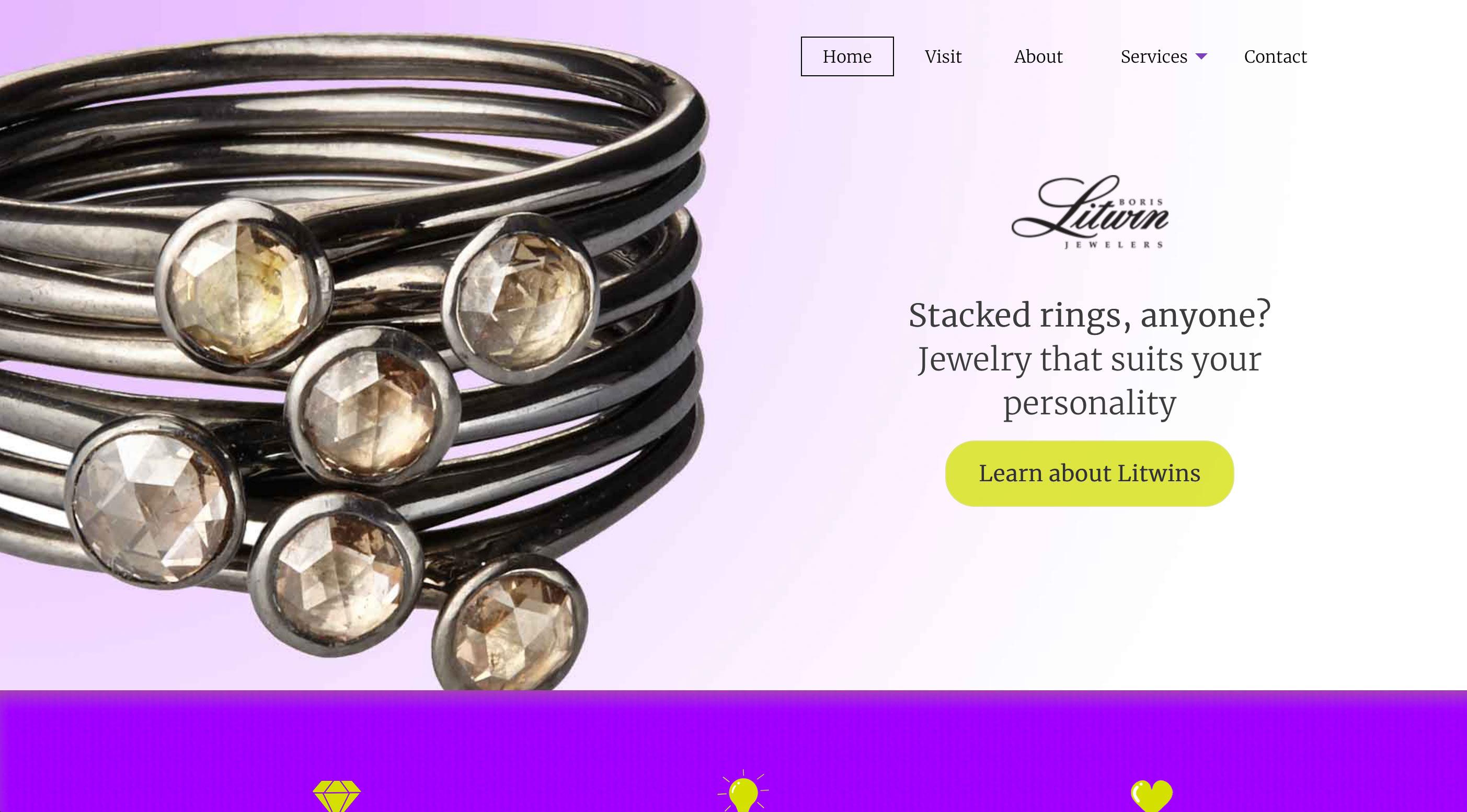 Litwins.com screenshot